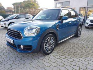 MINI COUNTRYMAN ISLAND BLU
